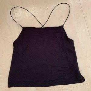 STRAPPY TANK TOP WITH OPEN BACK